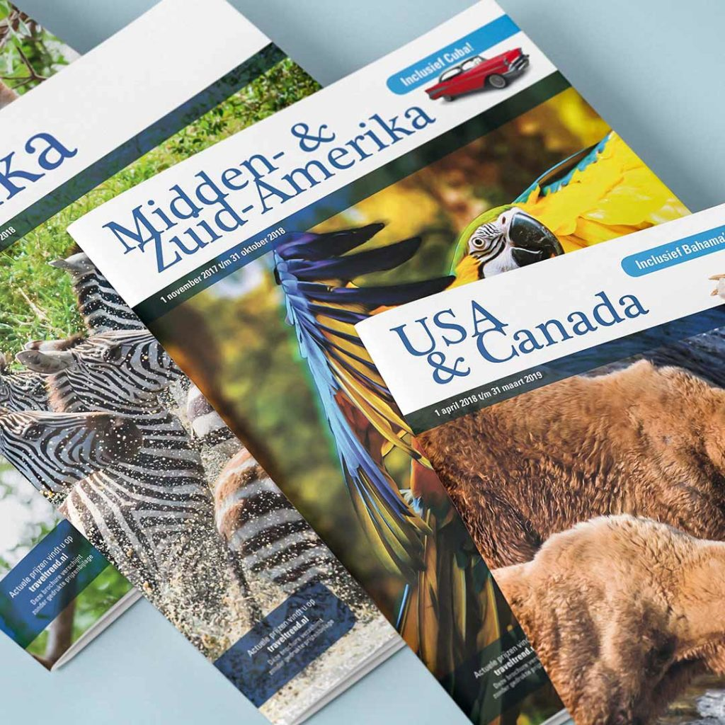 Travel Trend brochures